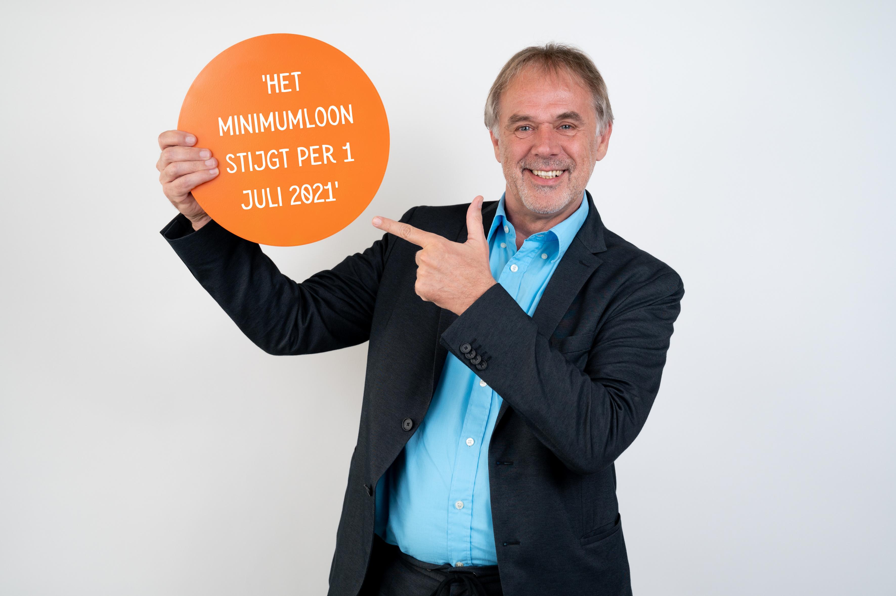Stijging minimumloon per 1 juli 2021